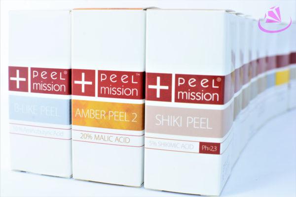 Kwasy peel mission, shiki peel, amber peel 2