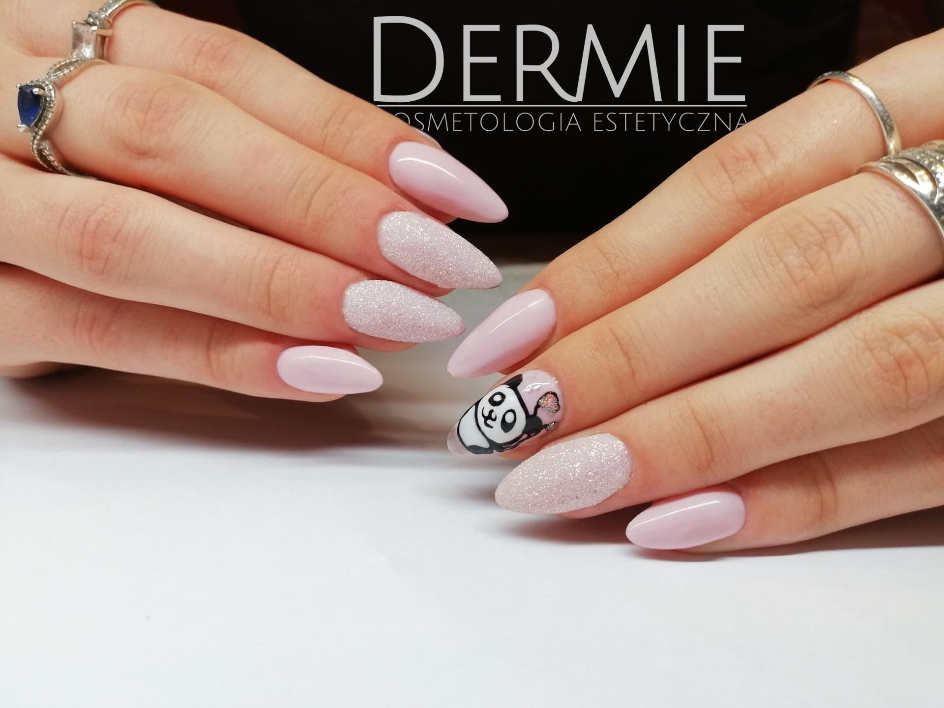 dermie kosmertologia estetyczna - manicure hybrydowy - realizacje, paznokcie