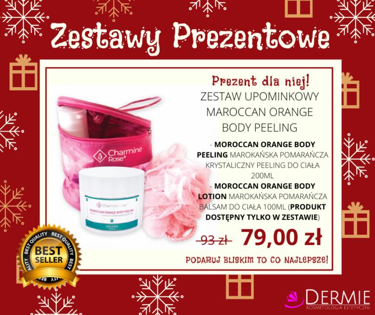 Zestaw prezentowy dla kobiety - kosmetyczka - kosmetyki - peeling dermie Rzeszów